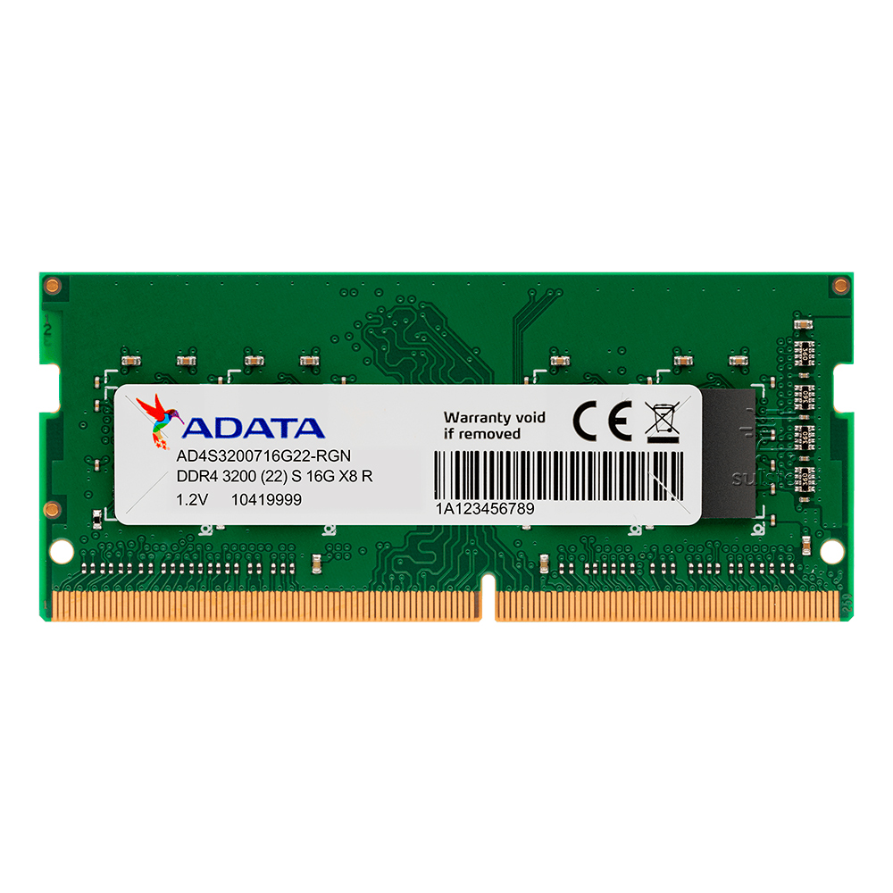 Memória Adata 8GB 2666mhz DDR4 AD4S26668G19SGN para Notebook