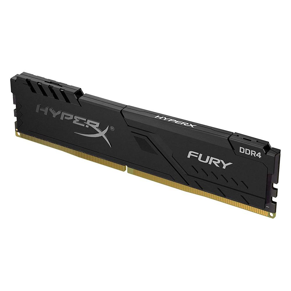Memória DDR4 8GB 2400Mhz Kingston Hyper X Fury Para Computador Desktop HX424C15FB3/8