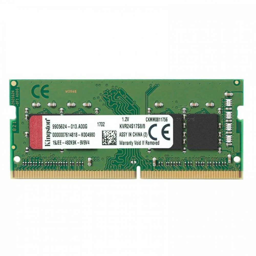 Memória Kingston DDR4 8GB 2400Mhz Para Notebook KVR24S17S8/8