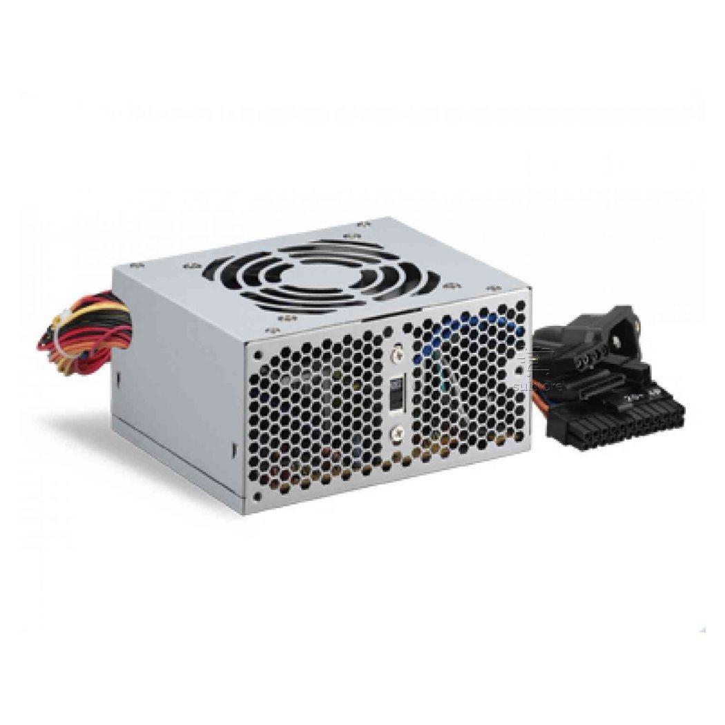 Mini Fonte SFX 250w PP-250ROF Kmex Para Gabinete Cm-9i8a 9g8a 9f8a com Extensor Entrada de Energia