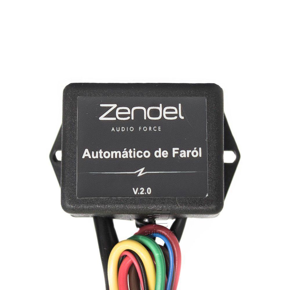 Módulo de Acionamento Automático de Farol Automotivo 12v Zendel