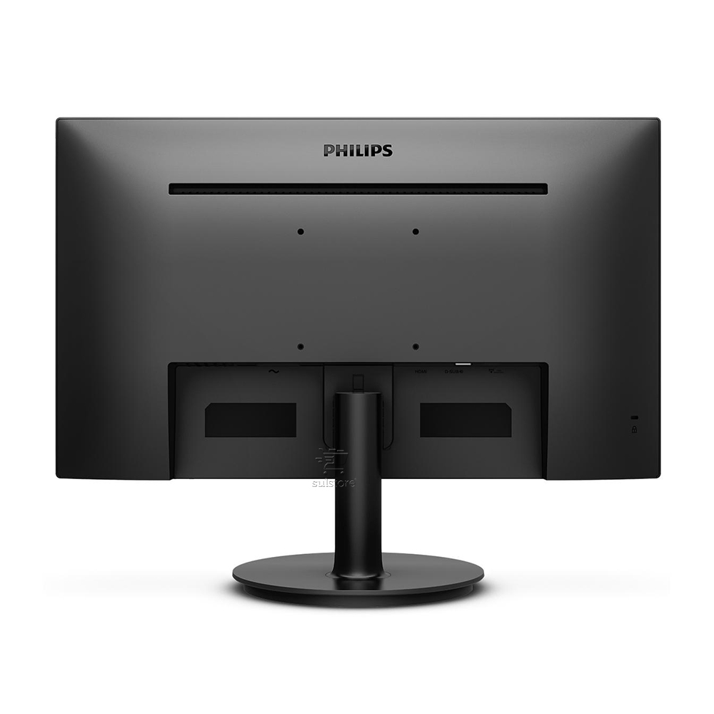 Monitor LED 23,8 Philips 242V8A Wide IPS Preto Bivolt HDMI VGA Display Port