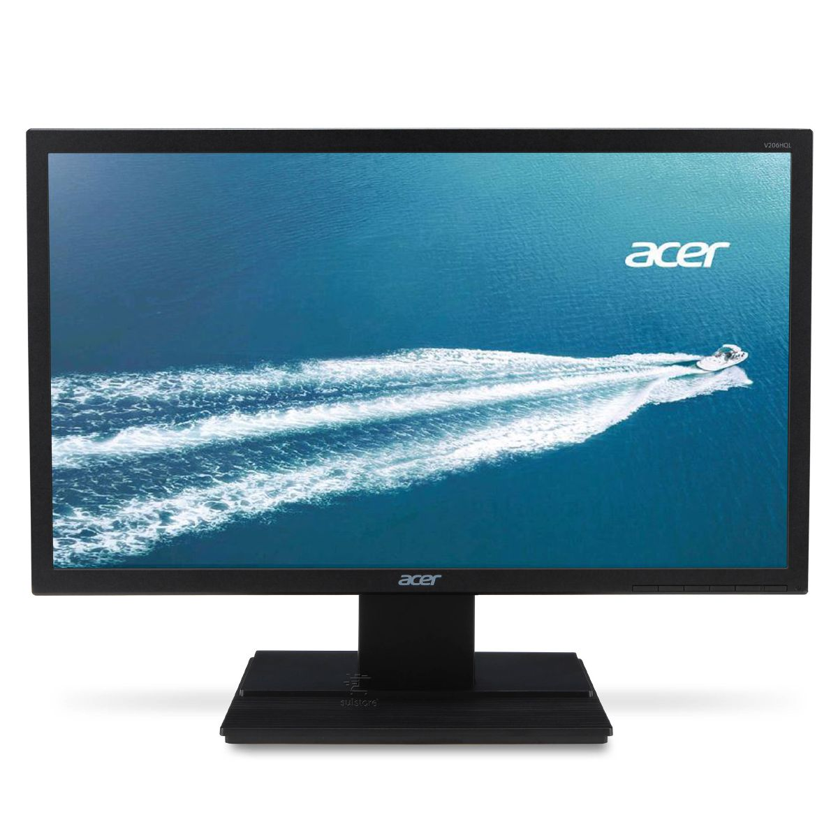 Monitor LED Acer 19,5 V206HQL HDMI VGA VESA e Inclinação