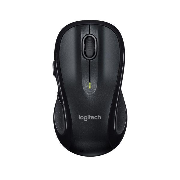Mouse Logitech M510 Sem fio 910-001822 Preto Tamanho Grande