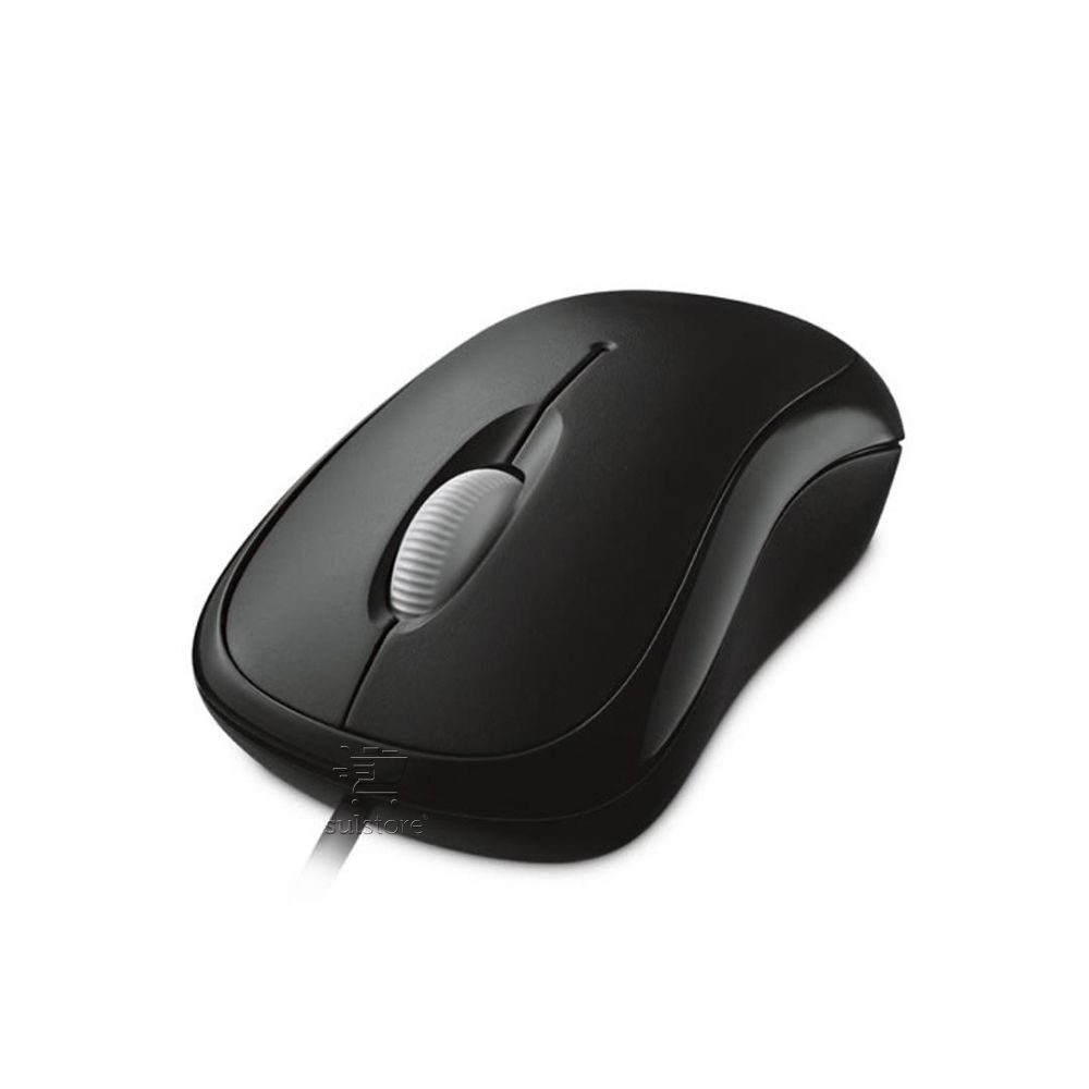 Mouse Microsoft Basic Optical Usb P58-00061 Preto