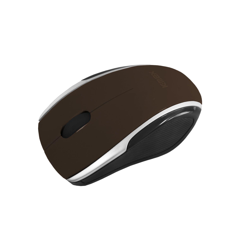 Mouse Óptico Sem Fio Wireless MAC333 K-Mex 2.4Ghz