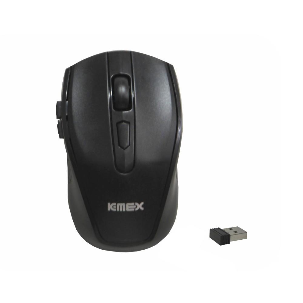 Mouse Wireless Com 6 Botões Sem Fio 1600 DPI Ideal Para Notebook K-mex MA-P236