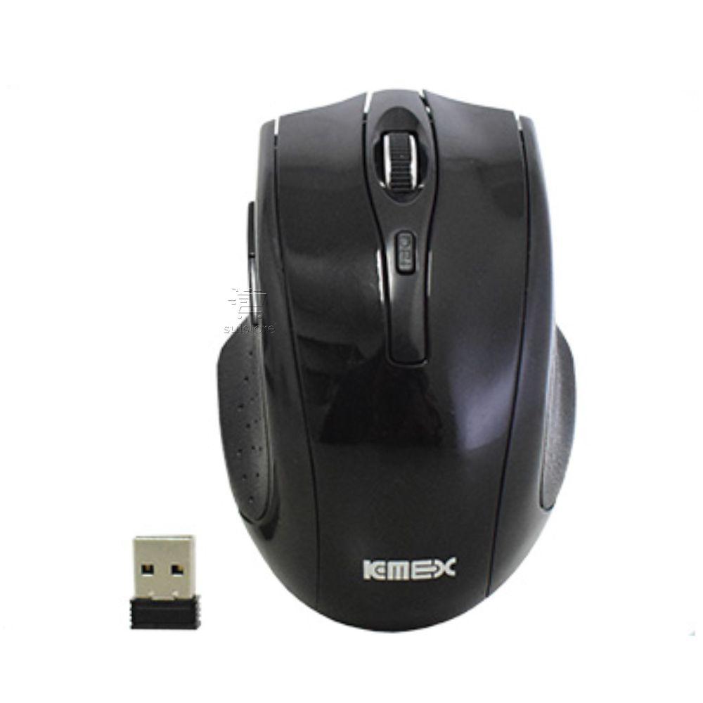 Mouse Wireless Sem fio Ergonômico 1600DPI MA-C233 Preto K-mex