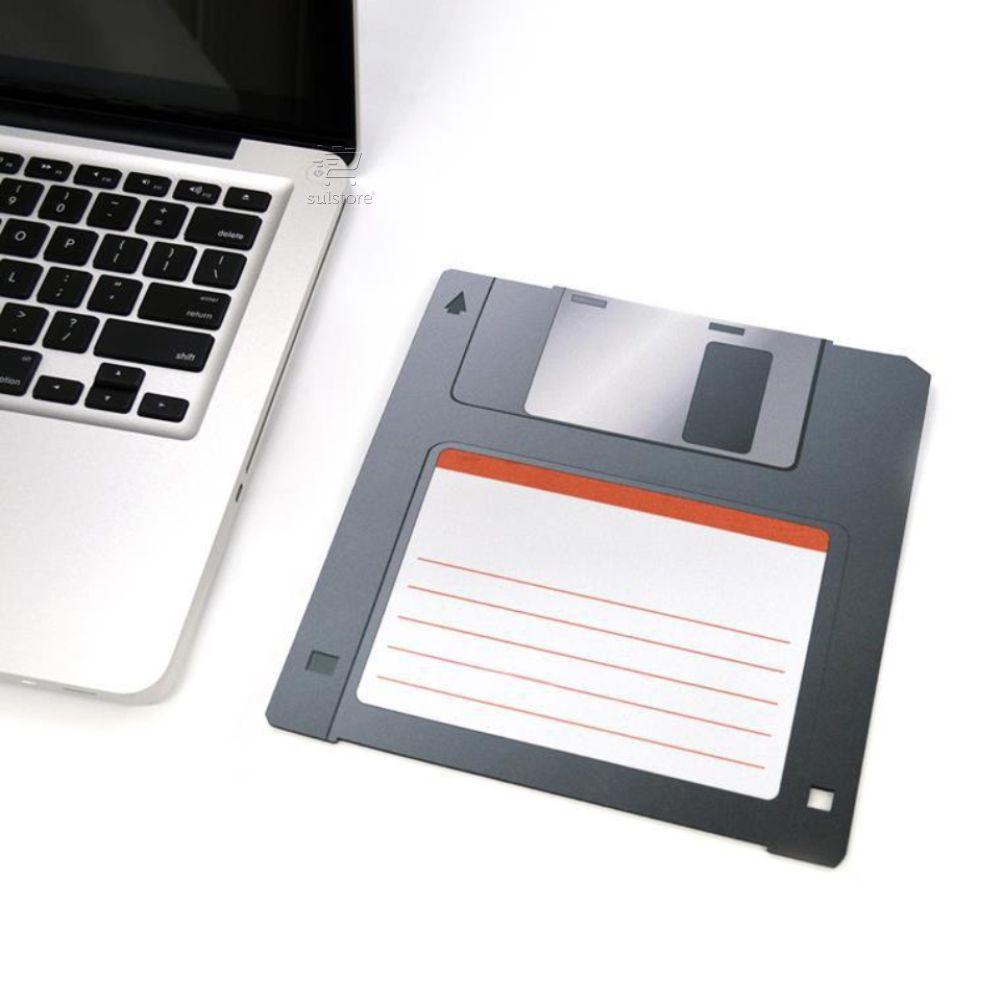 MousePad Decorativo Colorfun Disquete com Ímã para Geladeira