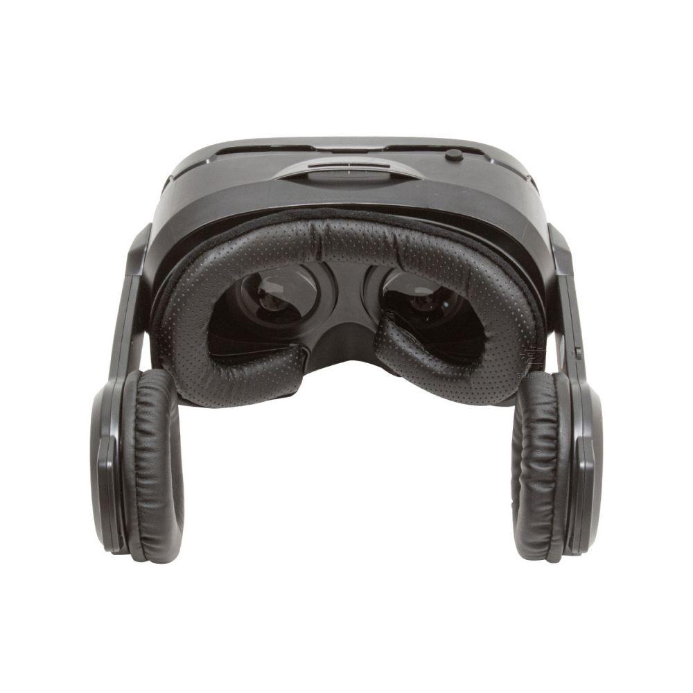 Óculos de Realidade Virtual 3D Cardboard VR Com Headphone Warrior JS086