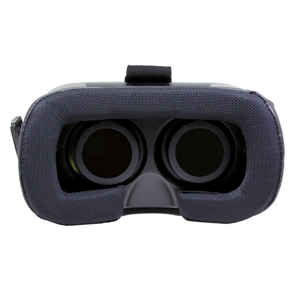 Óculos de Realidade Virtual 3D VR RIFT Cardboard com Controle Remoto Mymax MFYF-VR12/WH