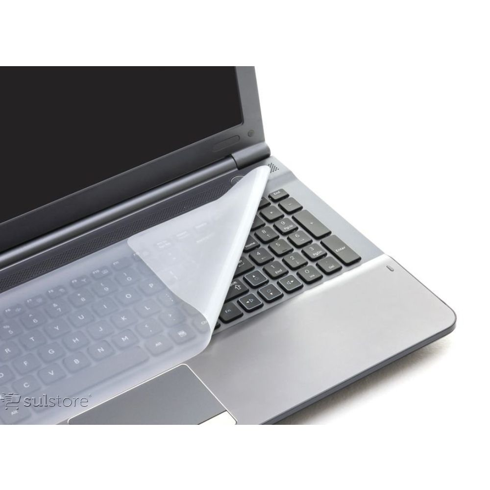 Película Silicone Transparente Para Teclado de Notebook 14cm x 36cm Reliza