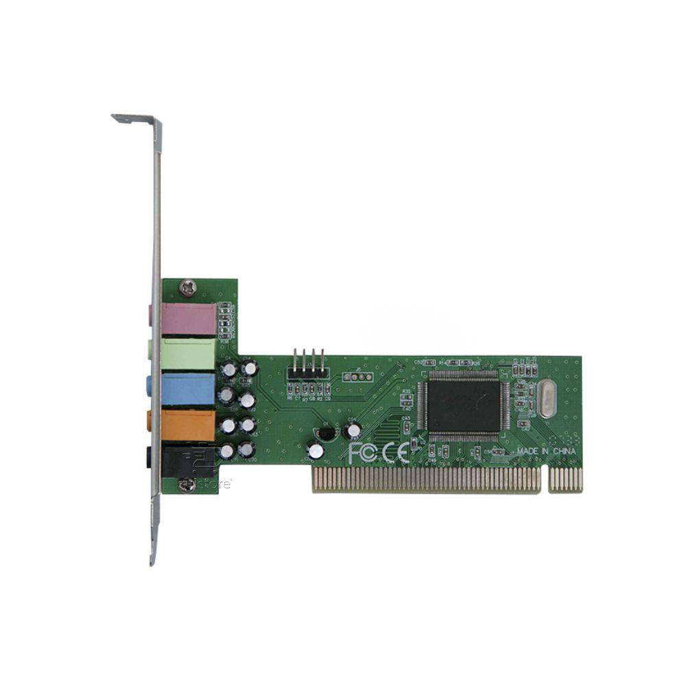 Placa De Som PCI 5.1 Canais DEX DP-61 Interna Direct Sound 3D
