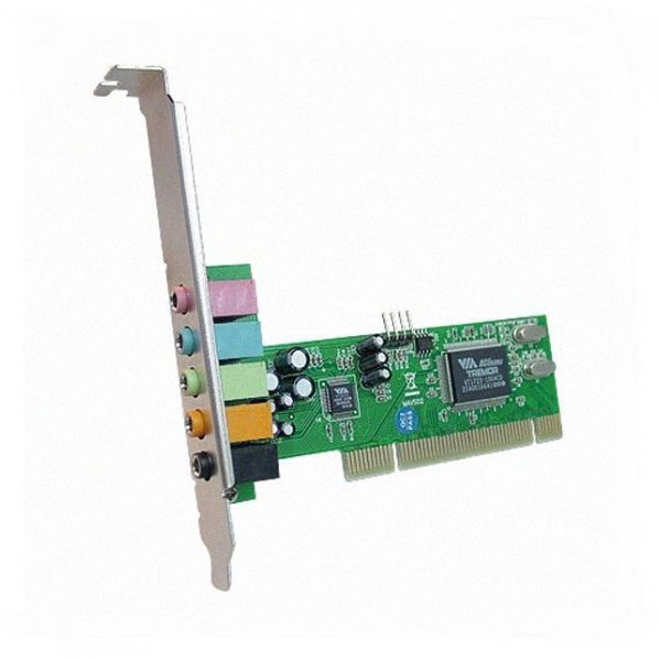 Placa De Som PCI 5.1 Canais Feasso JPSOM5.1C Interna
