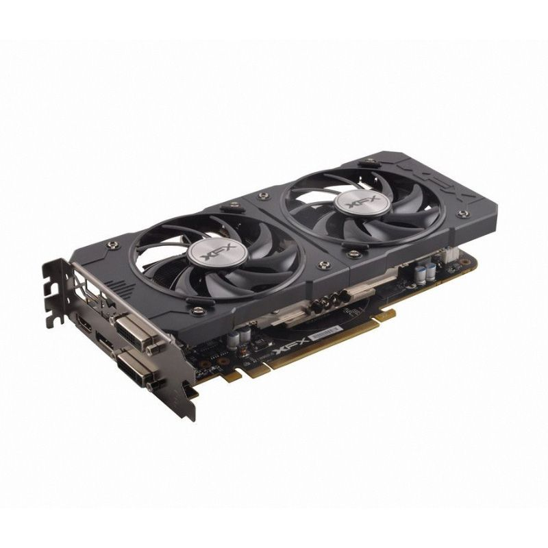 Placa De Vídeo AMD Radeon R7 370 2GB DDR5 Xtreme Black Edition D5 XFX R7-370B-CDF5