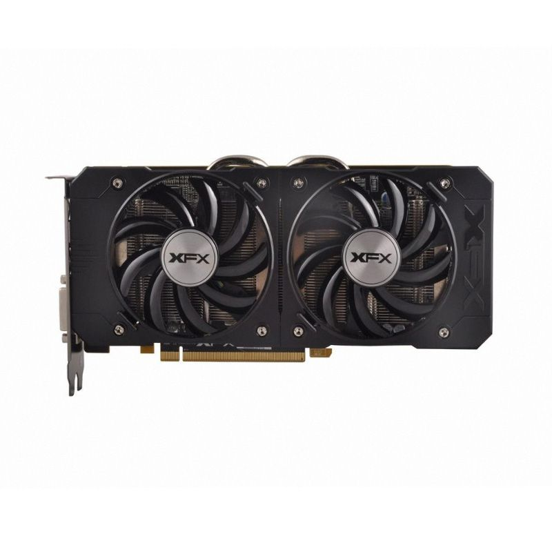 Placa De Vídeo AMD Radeon R7 370 2GB DDR5 Xtreme Black Edition D5 XFX R7-370B-CDF5