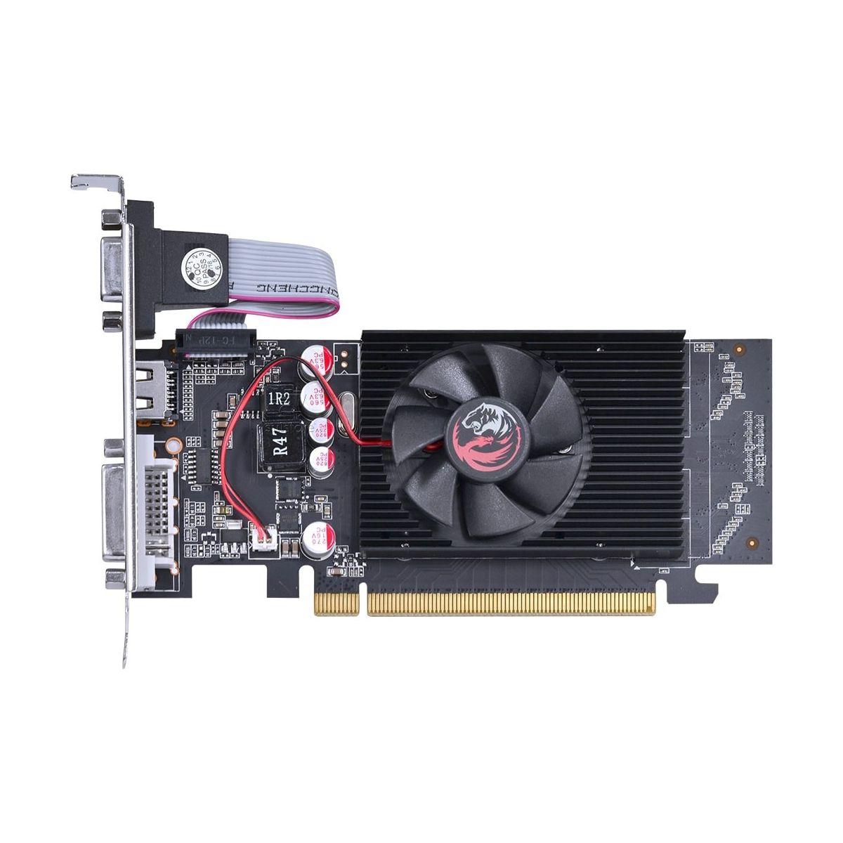 Placa de Vídeo GeForce GT 210 PCYES 1GB DDR2 64 Bits com Low Profile