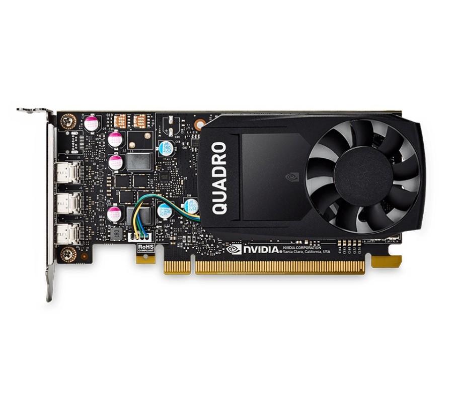 Placa de Vídeo NVIDIA Quadro P400 PNY 2GB DDR5 64BIT DP VCQP400-PORPB