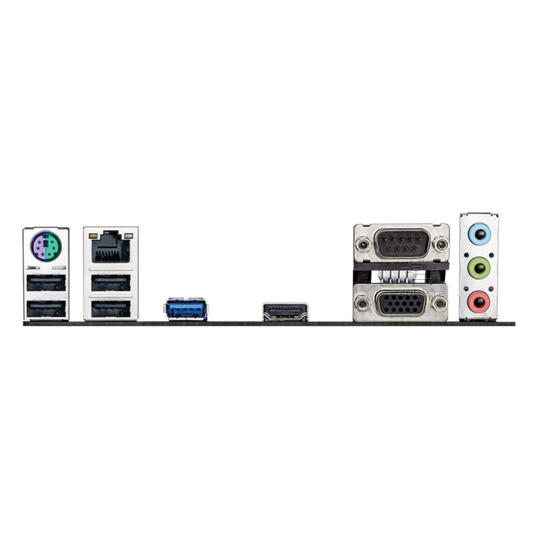Placa mãe Asus J1800I C/BR com Processador Celeron Dual Core 90MB0150-C1BAY2