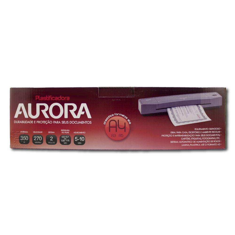 Plastificadora de Documentos Até A3 Polaseal LM3233H Aurora