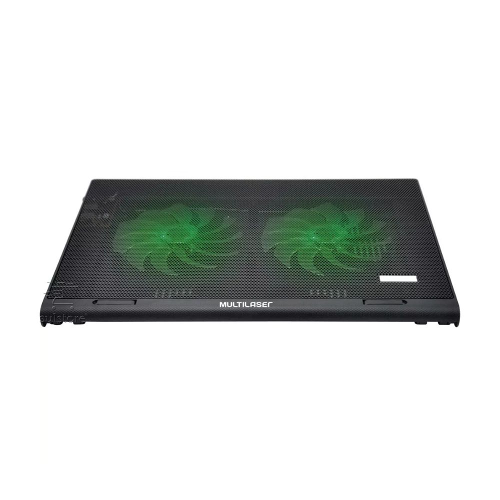 Power Cooler Gamer Base Para Notebook LED Verde Multilaser Ac267