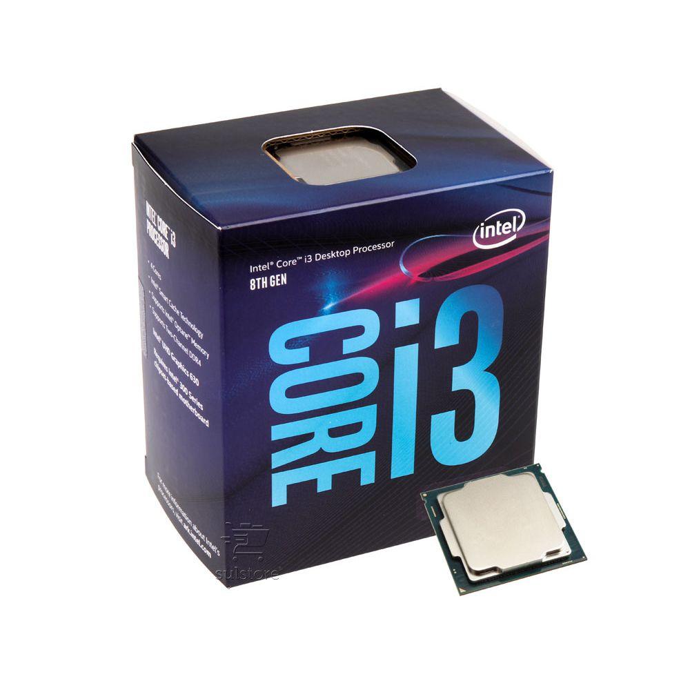 Processador Intel Core I3 8100 3.6Ghz 6MB Lga 1151 Box 8ª Geração