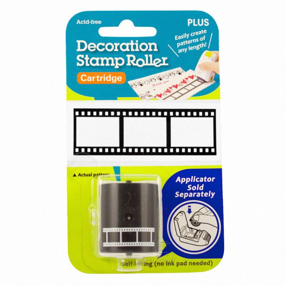 Refil Decorativo Rolo de Filme Cinema Para Carimbo Kespon Roller Plus Japan