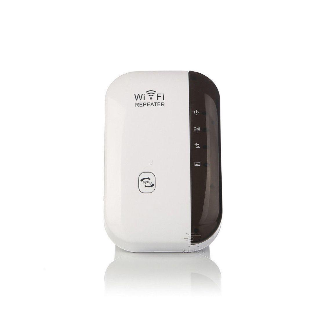 Repetidor Expansor Sinal Wireless 300Mbps FRWL-15 Feasso Com Saída RJ45