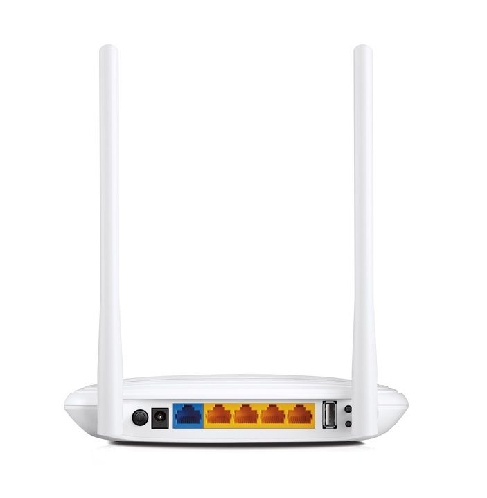 Roteador Wireless N 300 Multifuncional TP-Link TL-WR842N USB Sharing Print Server