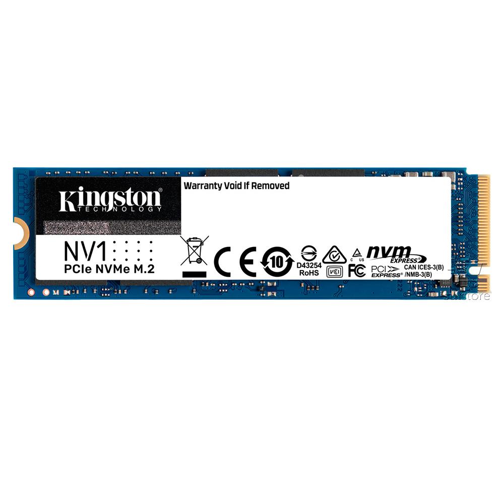 SSD Kingston 500GB M2 NV1 2280 NVME 3 35X Mais Rápido M.2 PCIe SNVS/500G