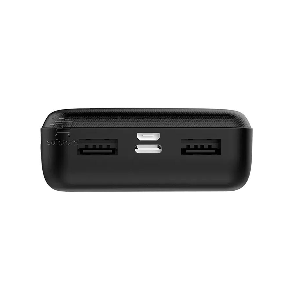 Super Power Bank 25000mAh Carregador Portátil Bateria Extra USB e USB Type C 2.1A ELG PB250MAX