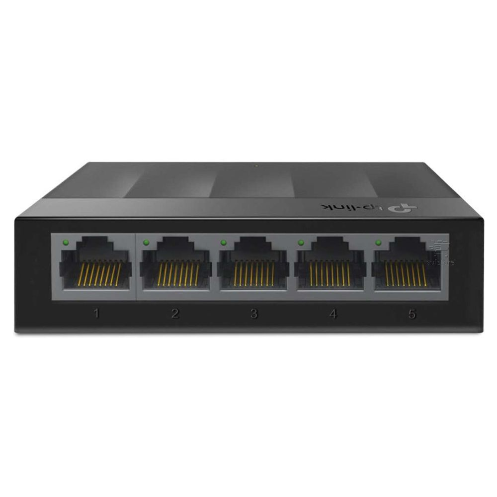 Switch 5 Portas RJ45 Gigabit TP-Link TL-LS1005G Hub 10/100/1000