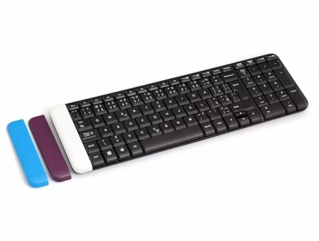 Teclado Logitech Wireless Sem Fio Compacto K230 Preto
