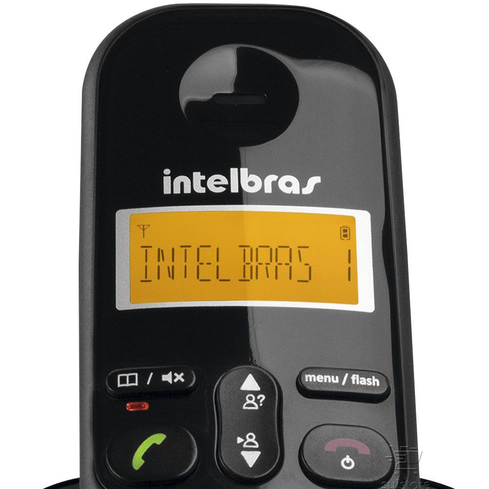 Telefone Sem Fio Ts3113 Intelbras Combo Base com 2 Ramal Adicional