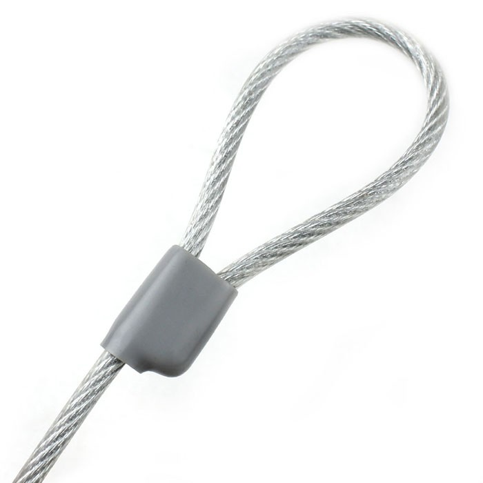 Trava Cadeado Para Notebook Com Chave 1 Metro KCV-02 JK