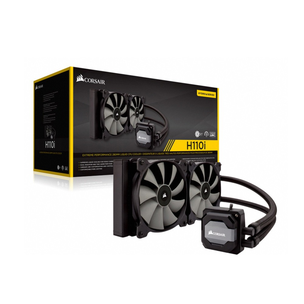 Water Cooler Corsair H110I Alta Performance Radiador 280mm