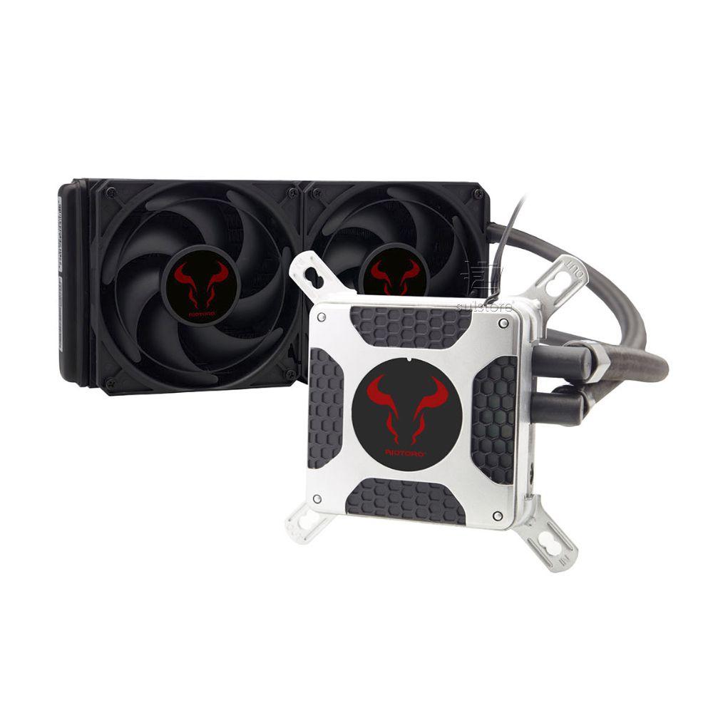 Water Cooler Riotoro Bifrost 240 TR-240 2 x 120mm Amd e Intel