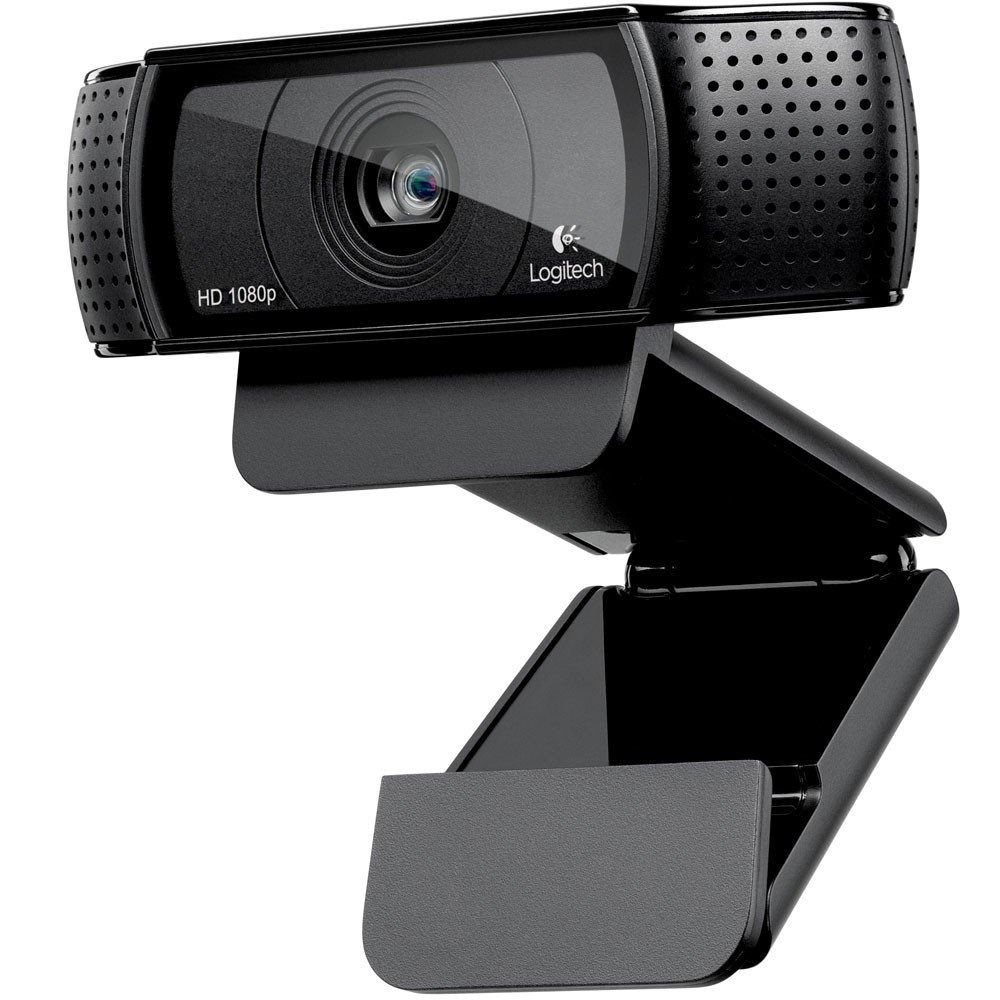 Web Cam Logitech C920 Full Hd 1080p Para Pc Notebook Skype