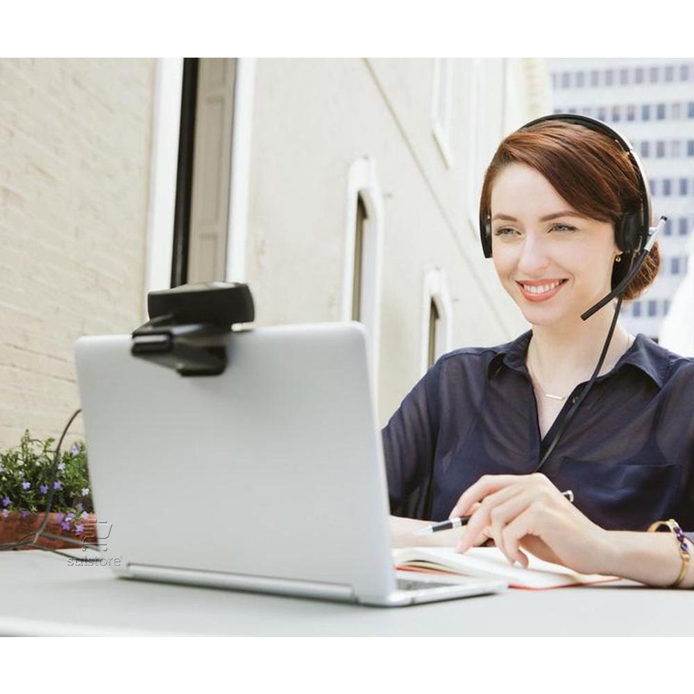 Web Cam Logitech C930E FULL HD USB 1080p Vídeo De Alta Qualidade Com Microfone