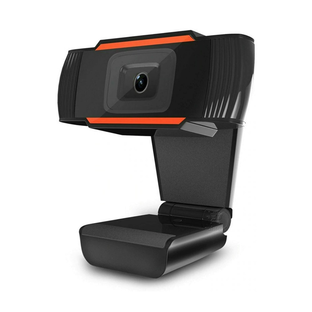 Webcam HD 720p V5 USB BrazilPc com Microfone P2