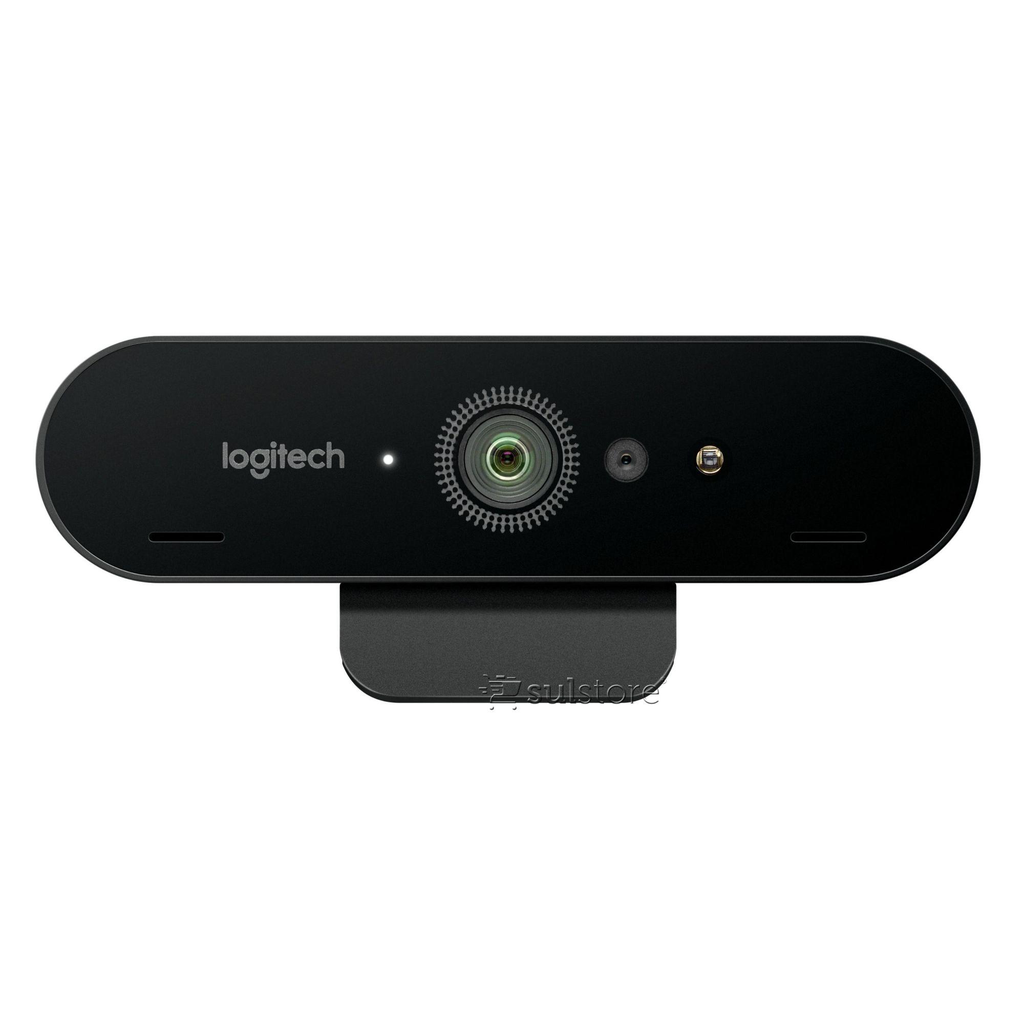 Webcam Logitech Brio 4K Pro Tecnologia HDR e Rightlight 3