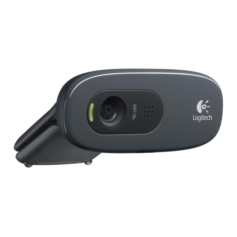 Webcam Logitech C270 Usb Hd 720p Com Microfone