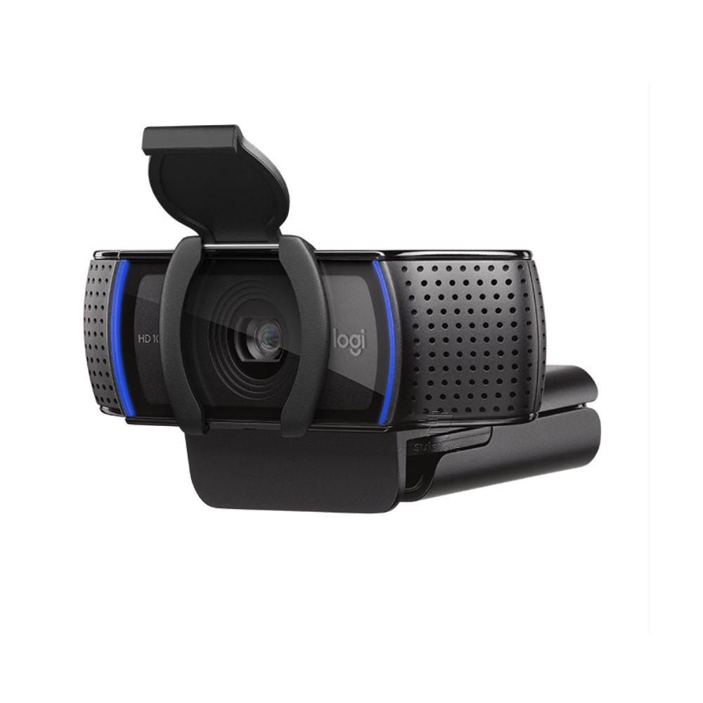 Webcam Logitech C920S Pro FULL HD 1080p com Cortina de Privacidade Foco Automático e Microfone