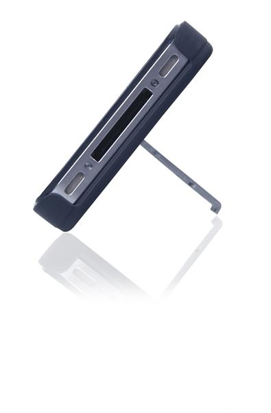 Capa E Suporte Multilaser Para Iphone 5 Preto E Prata - Bo327