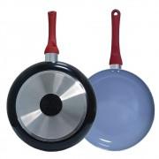 Frigideira Kitchen Revestimento cerâmica Antiaderente 24cm AL083 - Casambiente