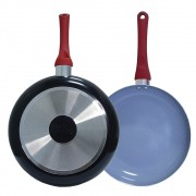 Frigideira Kitchen Revestimento cerâmica Antiaderente 26cm AL084 - Casambiente