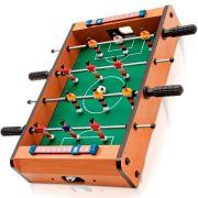 Jogo Pebolim Futebol de Mesa 50x31x10cm