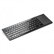 Teclado Smartv Control Sem Fio Touch Pad TC190 - Multilaser