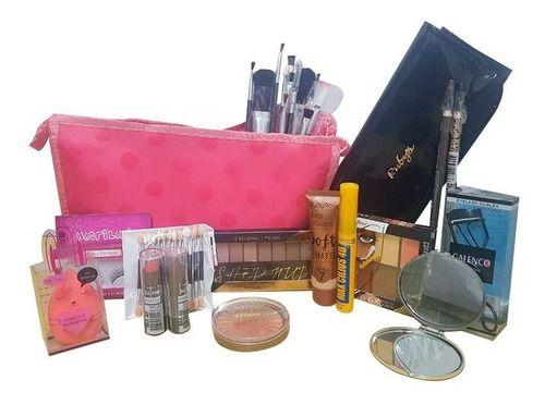 Necessaire De Maquiagem Completo Profissional Ruby Rose Kit2