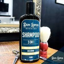 Shampoo 3 Em 1 Cabelo - Barba - Corpo Don Lopes